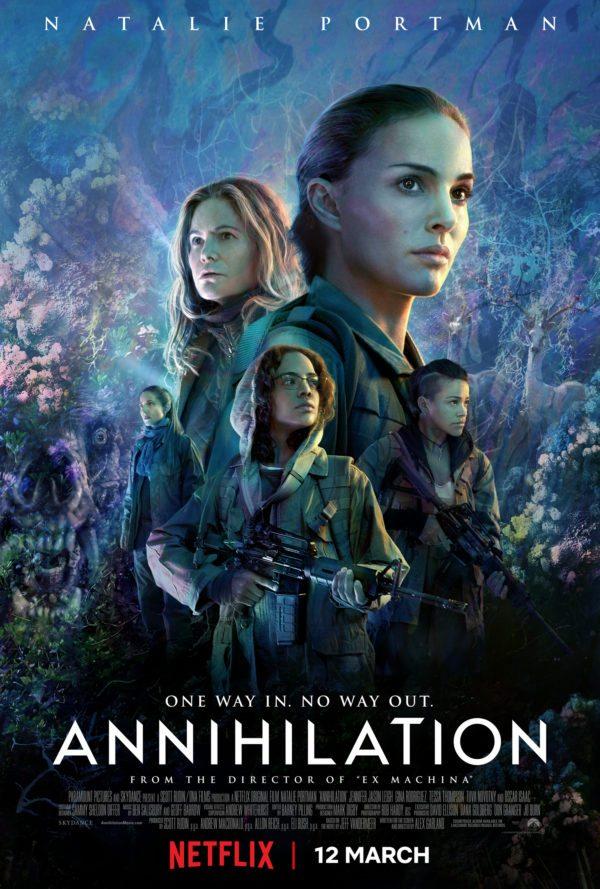 Auslöschung (Originaltitel: Annihilation) poster